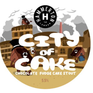 City Of Cake - Keg Badges